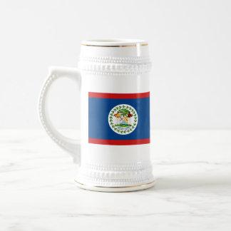 ベリセの旗の~の地図のマグ ビールジョッキ