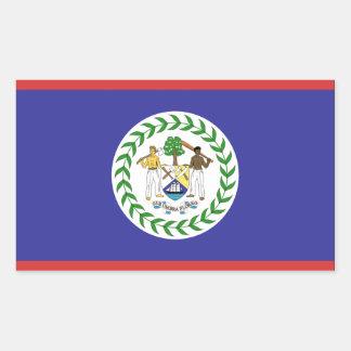 ベリセの旗 長方形シール