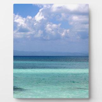 ベリセの海岸線の写真が付いているプラク フォトプラーク