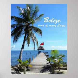 ベリセ-多くのの土地Cayes ポスター