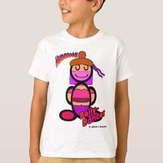 ベリーダンサー(ロゴと) Tシャツ