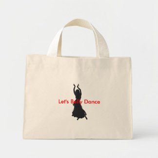 ベリーダンスのバッグは ミニトートバッグ