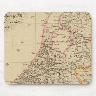 ベルギーおよびオランダ1812年 マウスパッド