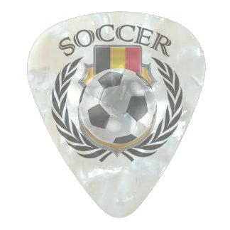 ベルギーのサッカー2016ファンのギア パールセルロイド ギターピック