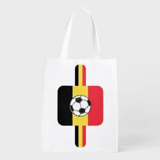 ベルギーのフットボール エコバッグ