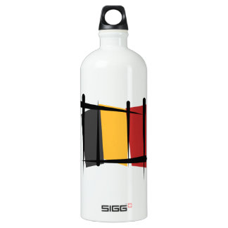 ベルギーのブラシの旗 ウォーターボトル