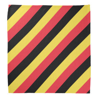 ベルギーのベルギーの旗のバンダナ|色 バンダナ