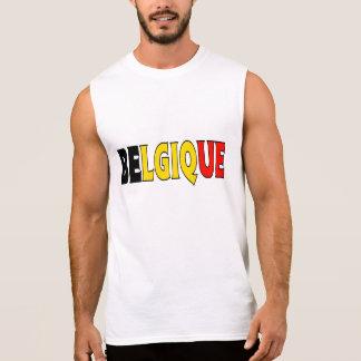 ベルギーのワイシャツ 袖なしシャツ