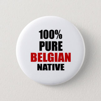 ベルギーの先住民 缶バッジ