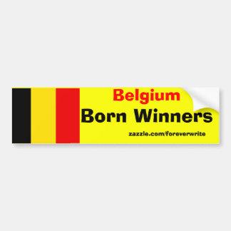 ベルギーの勝者 バンパーステッカー
