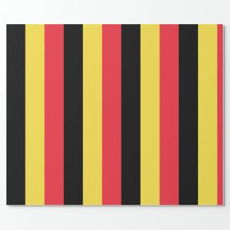 ベルギーの包装紙の旗 ラッピングペーパー