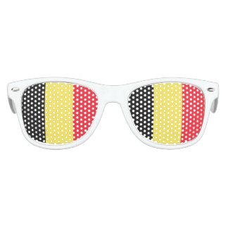 ベルギーの国旗 パーティ用サングラス