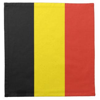 ベルギーの旗のナプキン ナプキンクロス
