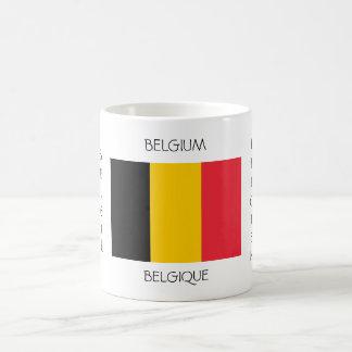 ベルギーの旗のマグ コーヒーマグカップ