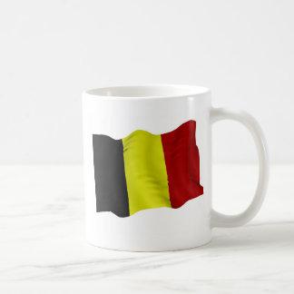 ベルギーの旗 コーヒーマグカップ