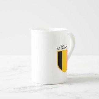 ベルギーの旗 ボーンチャイナカップ