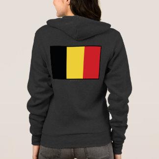 ベルギーの明白な旗 パーカ
