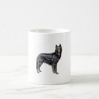 ベルギーの牧羊犬 コーヒーマグカップ