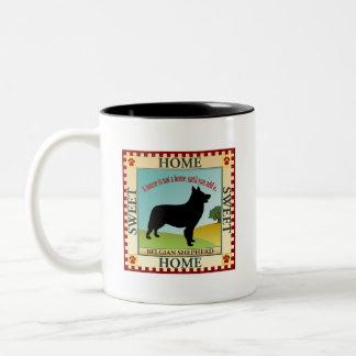 ベルギーの羊飼い ツートーンマグカップ