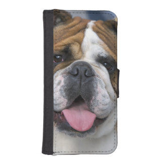 ベルギーの英国のブルドッグ iPhoneSE/5/5sウォレットケース