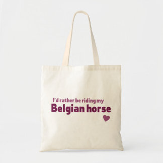 ベルギーの馬 トートバッグ