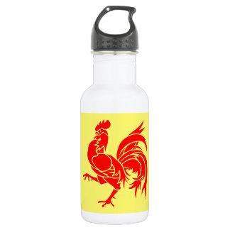 (ベルギーの) Walloon旗 ウォーターボトル
