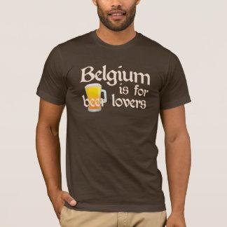 ベルギーはビール恋人のためです Tシャツ