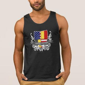 ベルギーアメリカの盾の旗