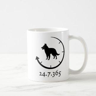 ベルギー人Groenendael コーヒーマグカップ