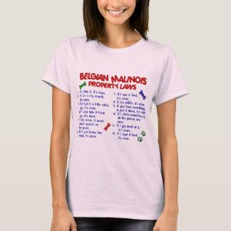 ベルギー人MALINOIS PL2 Tシャツ
