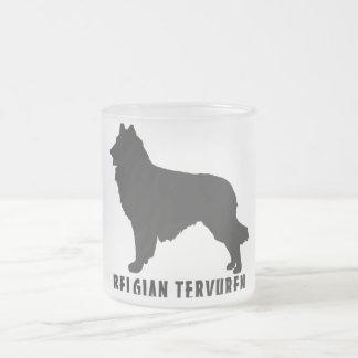 ベルギー人Tervuren フロストグラスマグカップ