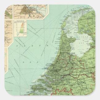 ベルギー及びオランダ スクエアシール