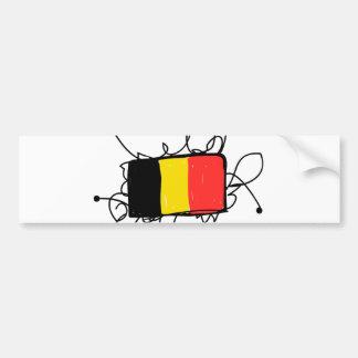 ベルギー バンパーステッカー