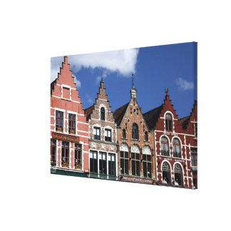 ベルギー、ブリュッヘ(別名BrugかBruge)。 ユネスコ2 キャンバスプリント