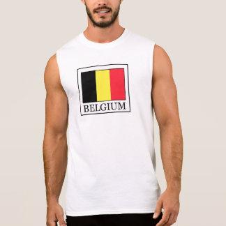 ベルギー 袖なしシャツ