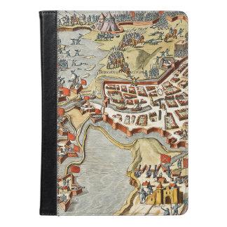 ベルゲンの操作のズームレンズ、オランダの地図 iPad AIRケース