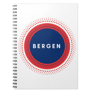 ベルゲンノルウェー ノートブック