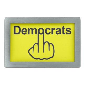 ベルトの留め金の民主党員フリップ 長方形ベルトバックル