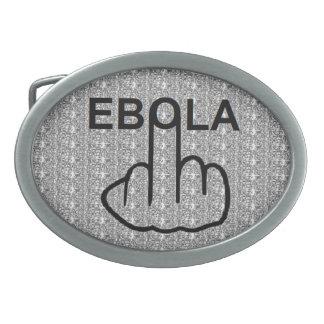 ベルトの留め金の送風Ebola 卵形バックル