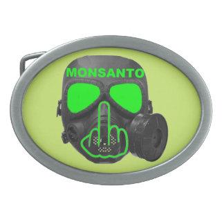 ベルトの留め金のMonsantoのガスマスクフリップ 卵形バックル