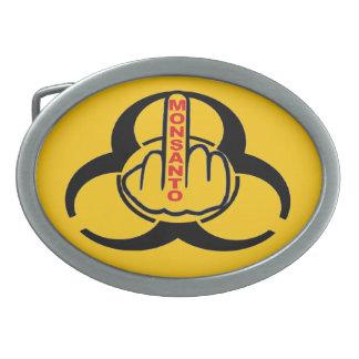 ベルトの留め金のMonsantoの生物危険フリップ 卵形バックル