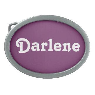 ベルトの留め金Darlene 卵形バックル