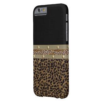 ベルトを付けられたヒョウのIPhone6ケース iPhone 6 ベアリーゼアケース