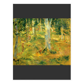 ベルト・モリゾ著Compiegneの森林 ポストカード