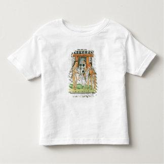 ベルナルディノde Sahagun著フィレンツェのCodex トドラーTシャツ