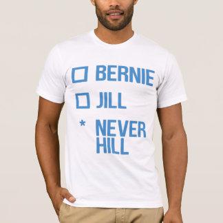 ベルニーかジル、NeverHill -青 Tシャツ