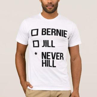ベルニーかジル、NeverHill -黒 Tシャツ