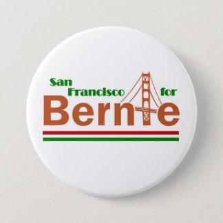 ベルニーのためのサンフランシスコ 7.6CM 丸型バッジ