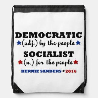 ベルニーの民主党の社会主義研摩機 ナップサック