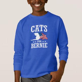 ベルニーの研摩機のための猫 Tシャツ